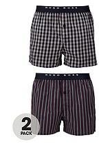 Stripe WovenBoxers (2 pack)