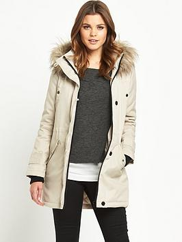 south-arctic-parka-with-faux-fur-trimnbsp