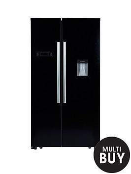 swan-sr8100b-american-style-fridge-freezer-black