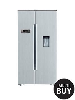 swan-sr8100s-american-style-fridge-freezer