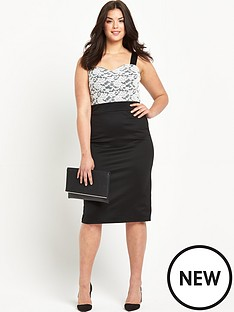so-fabulous-so-fabulous-lace-top-elastic-strap-bodycon-dress