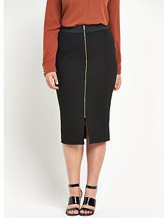 so-fabulous-so-fabulous-zip-front-textured-pencil-skirt
