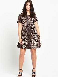 so-fabulous-so-fabulous-crepe-jersey-print-pocket-swing-dress