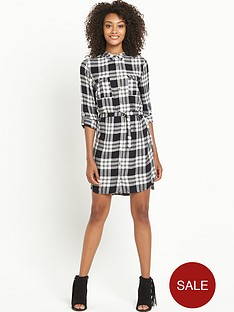 south-check-shirt-dress