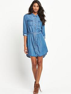 south-denim-tencelnbspshirt-dressnbsp
