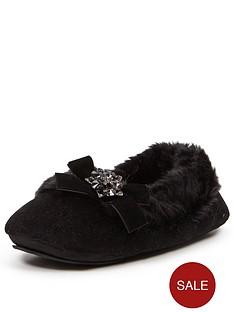 sorbet-mimosa-black-faux-fur-lined-ballerina-withnbspembellishment