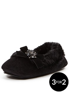 sorbet-mimosa-black-faux-fur-lined-ballerina-withnbspembellishment