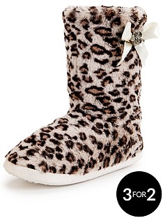 sorbet-rose-fur-bow-bootie-grey-leopard