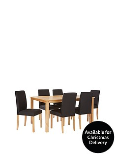 primo-150-cm-dining-table-6-fabric-chairs