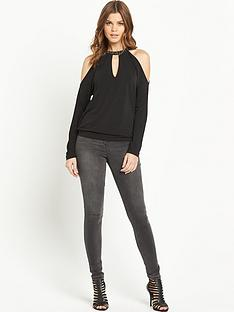 v-by-very-cold-shoulder-embellished-top