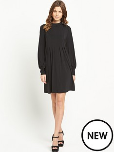 south-turtle-neck-swing-dress