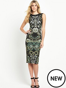 ted-baker-jewel-print-midi-dress