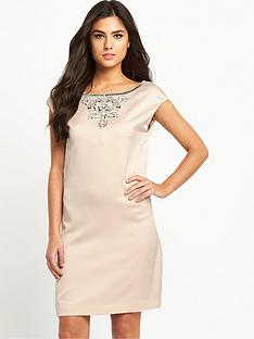 ted-baker-embellished-shift-dress