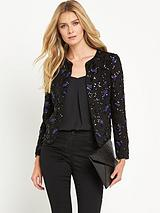Soft Sequin Jacket