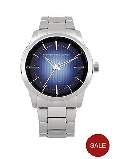 french-connection-blue-dial-stainless-steel-bracelet-mens-watch