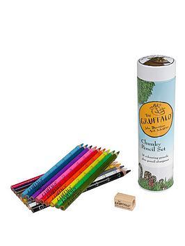 the-gruffalo-chunky-pencil-set