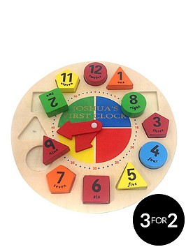 personalised-shape-sorter-learning-clock