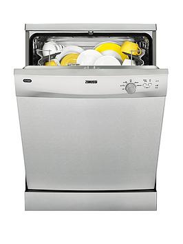 Zanussi Zdf21001Xa 12Place Full Size Dishwasher  Stainless Steel