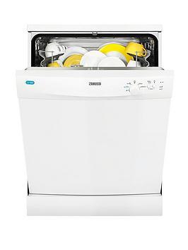 Zanussi Zdf21001Wa 12Place Full Size Dishwasher  White