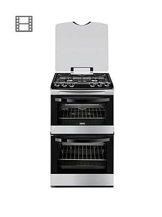 zanussi-zcg43000xa-55cm-gas-freestanding-double-oven-stainless-steel