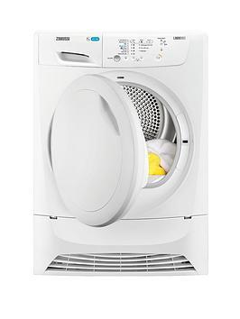 Zanussi ZDP7205PZ 7kg Condenser Sensor Dryer  White