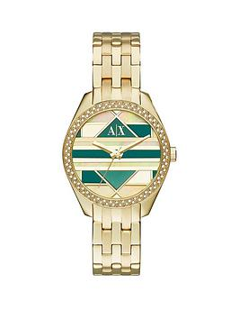 armani-exchange-gold-mosaic-dial-and-gold-ip-plated-bracelet-ladies-watch