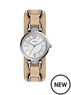 fossil-fossil-georgia-light-brown-watch-leather-saddle-ladies-strap-watch