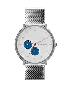 skagen-hald-blue-highlights-stainless-steel-mesh-mens-watch
