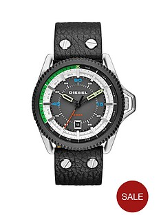 diesel-rollcage-gunmetal-dial-and-stainless-steel-with-black-leather-strap-mens-watch