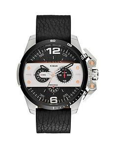 diesel-diesel-ironside-black-multi-dial-with-black-leather-strap-mens-watch