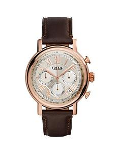 fossil-fossil-buchanan-rose-gold-case-with-brown-leather-strap-mens-watch
