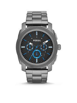 Fossil Fossil Machine Chronograph Blue Accents Picture