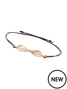 ted-baker-ted-baker-bow-friendship-bracelet--black