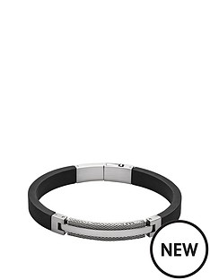 skagen-kring-silver-tone-stainless-steel-and-leather-mens-bracelet