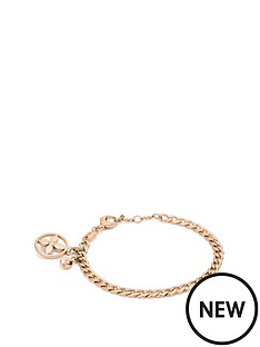 fossil-fossil-gold-plated-stainless-steel-curb-chain-bracelet-with-charm