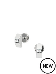 dkny-city-sparkle-silver-tone-baguette-stone-stud-earrings