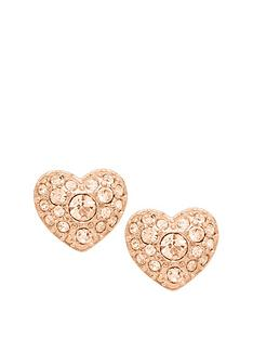 fossil-fossil-peach-crystal-set-heart-stud-earrings