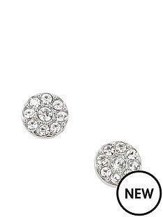 fossil-fossil-white-crystal-set-silver-tone-round-stud-earrings