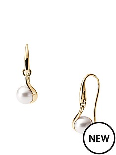 skagen-agenthe-pearl-gold-tone-earrings