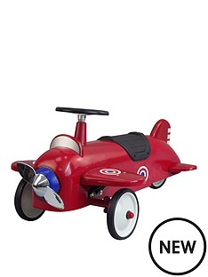 great-gizmos-ride-on-aeroplane-red