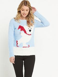 south-polar-bear-eyelash-christmas-jumper