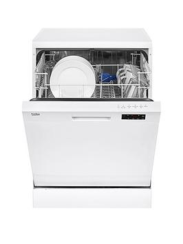 Beko Dfn16210W 12Place Dishwasher With Basket Flexibility  White