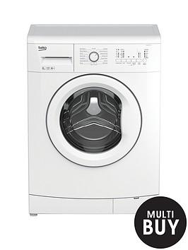 beko-wmb61222w-6kg-load-1200-spin-slim-washing-machine-silver