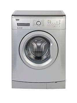 beko-wmb61222s-6kg-load-1200-spin-slim-washing-machine-silver