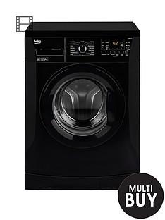 beko-wmb61432b-6kg-load-1200-spin-slim-washing-machine-black