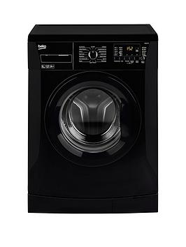 Beko WMB61432B 6kg Load 1200 Spin Slim Washing Machine  Black