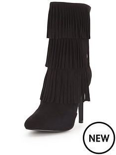 glamorous-fringed-heeled-boots