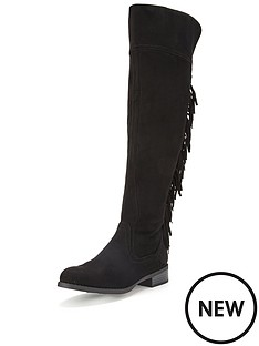 glamorous-tassel-over-the-knee-boots