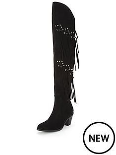 glamorous-tasselampnbspblock-heel-knee-boots
