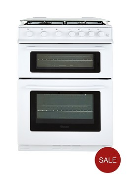 swan-sx2060w-60cm-gas-double-oven